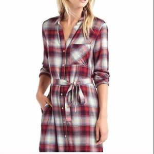 GAP Pendleton shirt dress